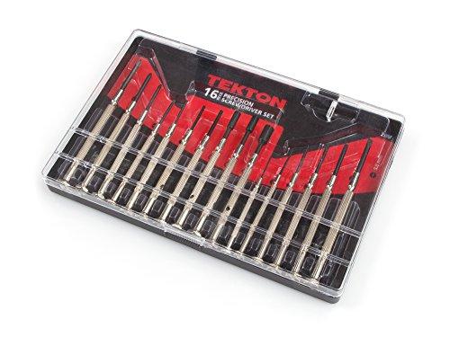 TEKTON 2987 Precision Screwdriver Set 16-Piece