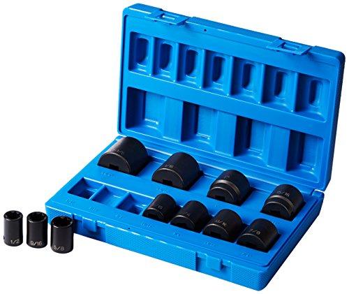 Grey Pneumatic 1311S 12 Drive 11-Piece 8-Point Standard Socket Set
