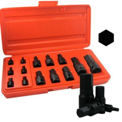 14pc SAE Impact HEX Socket Set