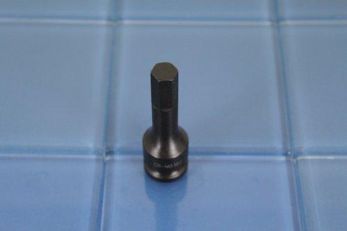 TEMO H-12 3 Long Black Impact Hex Socket Bit 12 Drive 4C4