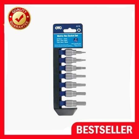 7 Piece Metric Hex Bit Socket Set OTC Tools OTC6170