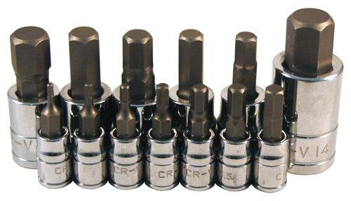 ATD Tools 13785 13-Piece Metric Hex Bit Socket Set