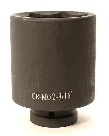 PowerLift CR-MO Air Deep Impact Socket - 1 Inch DR x 2 Inch x 916 Inch