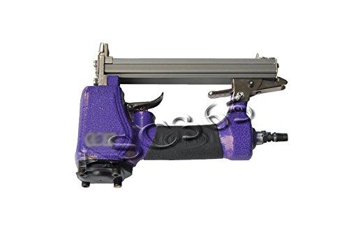 Pneumatic Staples Machine Upholstery Stapling Tool Air Stapler 12 100 Gauge Brad 260202