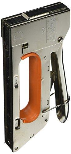 Uxcell Office Metal Handhold 11mm Width Staple Gun Tacker Stapler 4mm-8mm