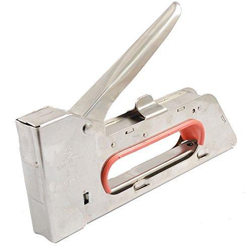 Water Wood Warehouse Metal Handheld 13mm Width Staple Gun Tacker Stapler