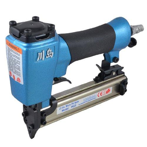 6mm Inlet 23 Gauge Micro Pin Nailer 12mm-25mm Staple Air Pneumatic Nail Gun w Hex Wrench