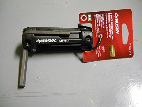 Husky 8 Piece Metric Radial Folding Hex Key