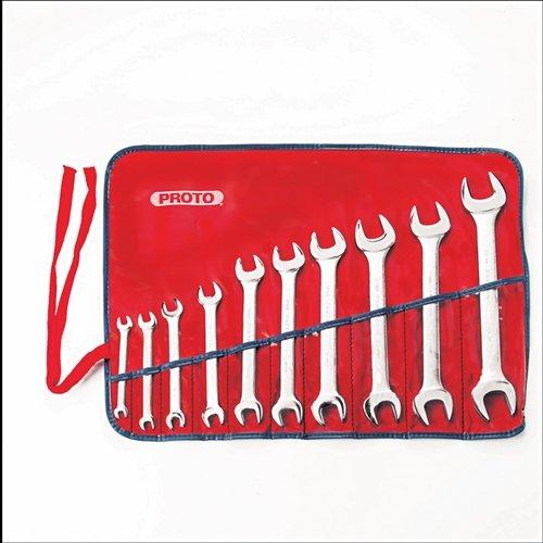 Stanley Proto J30000A 10 Piece Metric Open End Wrench Set