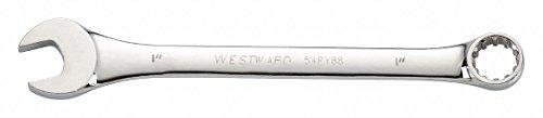 Westward 1 Combination Wrench SAE Full Polish Finish Number of Points 12 Full Polish 54RY88-1 Each