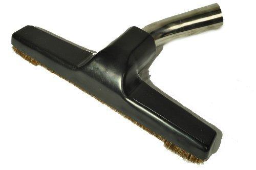 Eureka Generic Fits All Floor Brush Metal Curved Swivel Elbow horsehair bristles 1 14 fitting 10 wide color black