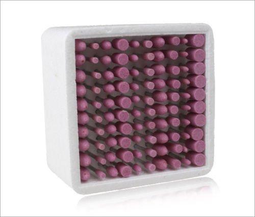 ZFE 100 Abrasive Stone Point Grinding Head Polishing Bur Set For Dremel Rotary Tool