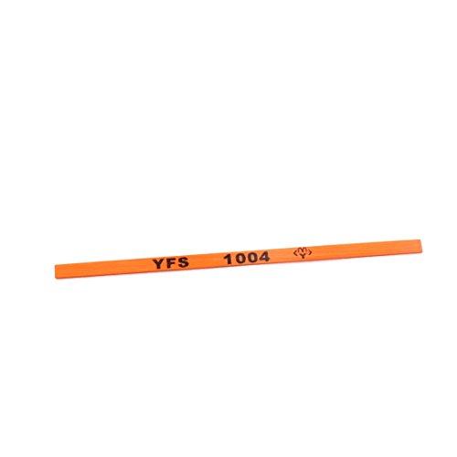 uxcell 105mmx45mmx1mm 220 Resin Abrasives Grinding Oil Stone Dark Orange