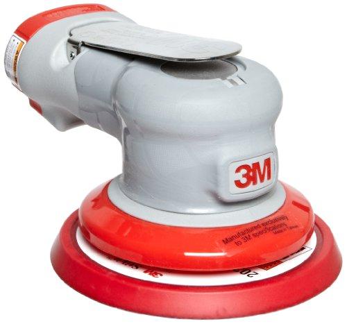 3M Random Orbital Sander - Elite Series 28498 Air-Powered Non-Vacuum 5 Inch 332 Orbit