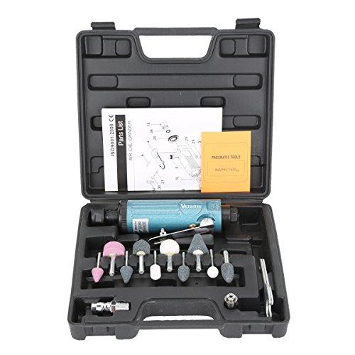 Valianto GR-329 22000RPM Speed Air Die Grinder Kit Set