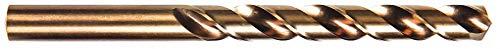 18 Cobalt Steel Jobber Drill Bit 2-34 Overall Length StrawBronze Drill Bit Finish - 1 Each