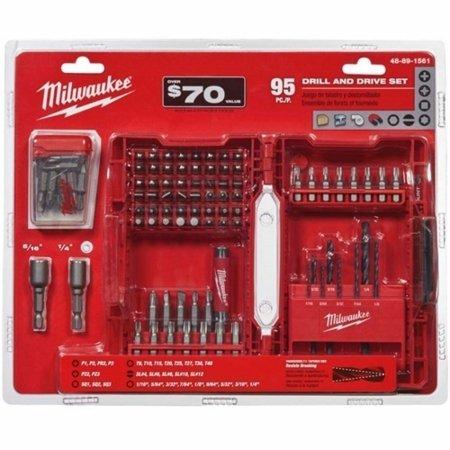 Milwaukee Electric Tool MWK48-89-1561 Bit Set Drill Driver - 95 Piece