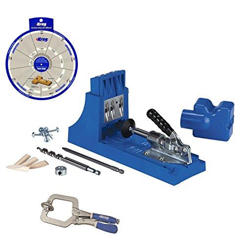 Kreg Jig K4 Pocket Hole System KHC-PREMIUM Face Clamp Screw Selector Wheel
