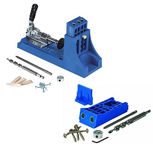 Kreg Jig K4 Pocket Hole System with Kreg Tool Company KJHD Jig HD