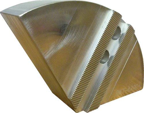 USST RKT-8200A Aluminum 6061 T6 Round Chuck Jaws for 8 CNC Lathe Chucks 2 Tall Set of 3 Pieces