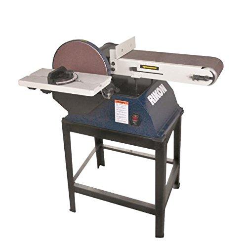 RIKON Power Tools 50-122 6 x 48 Belt  10 Disc Sander