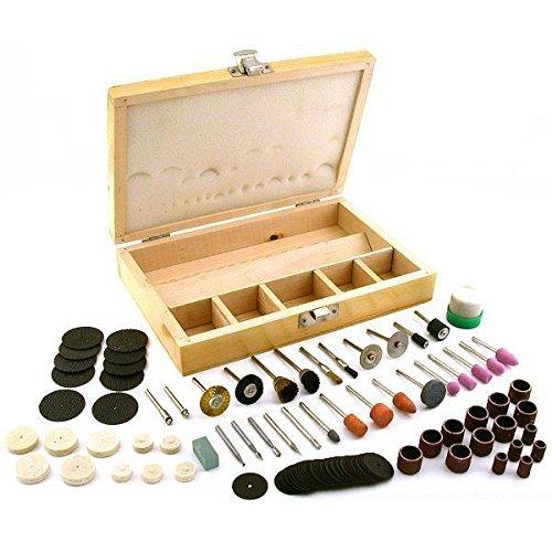 18 Rotary Tool Accessory Bit Set Fits Dremel Hobby Craft Jewelers Tools 100Pcs