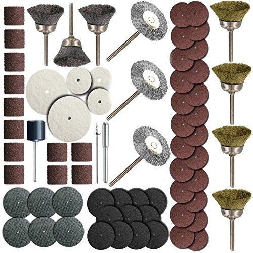 ZFE Rotary Tool Accessory Bit Set Fits Dremel 18 Rotray Tools Pack Of 161Pcs