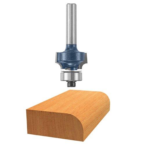 Bosch 85616M 532-Inch Diameter 14-Inch Cut Carbide Tipped Roundover Router Bit 14-Inch Shank