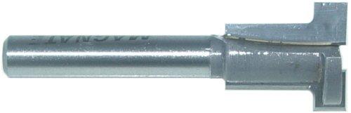 Magnate 6104 T-Slot Router Bits - 14 Kerf 34 Large Diameter 38 Small Diameter