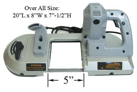 700 Watt Portable BandSaw Band Saw Metal Cutting