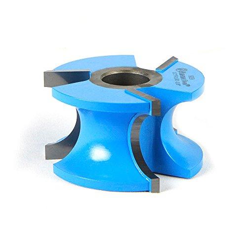 Amana Tool 929 Carbide Tipped 3-Wing Bullnose 12 R x 1 Bead R x 2-58 D x 1-12 CH x 12 34 Bore Shaper Cutter