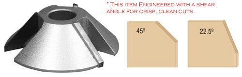 Infinity Tools 83-095 45° Chamfer Shaper Cutter 34 Bore