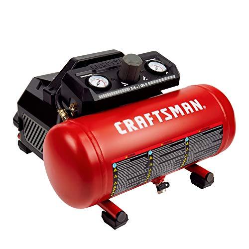 Craftsman Air Compressor 15 Gallon 34 HP Max 135 PSI Pressure Portable Oil Free Maintenance Free CMXECXA0200141A