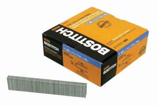 BOSTITCH SL50351G 1-by-516-Inch 18-Gauge Staples 5000-Per Box