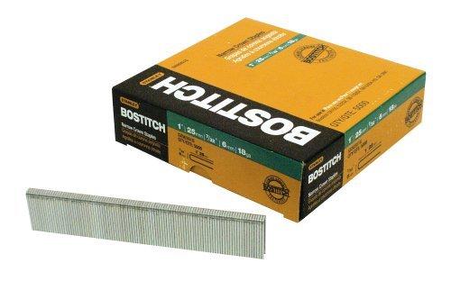 BOSTITCH SX50351G 1-by-732-Inch 18-Gauge Narrow Crown Finish Staple 5000-Per Box