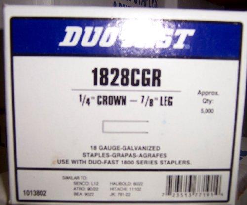 DUO-FAST 1828CGR 14 CROWN X 78 LEG 18 GAUGE STAPLES