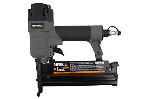 NuMax SL31 18 16 Gauge Pneumatic 3-in-1 Nailer Stapler Gray Black
