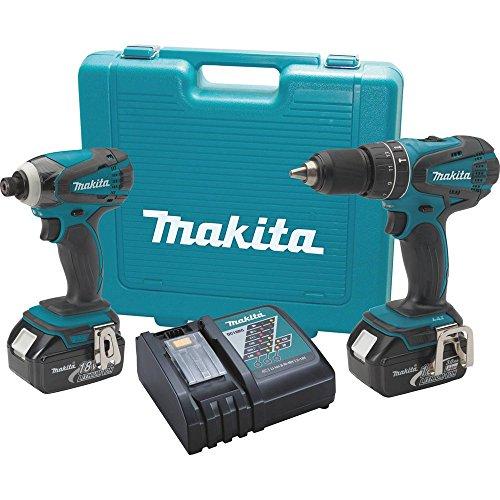 Makita XT211 18V LXT Lithium-Ion Cordless Combo Kit 2-Piece