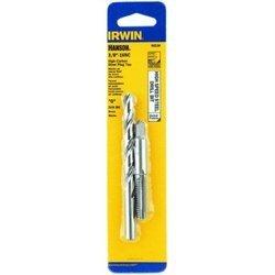 Irwin 80238 Plug Tap And Drill Bit Combo