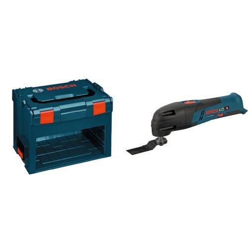 Bosch L-BOXX-3DB6 Storage Box with 12-Volt Bare-Tool Multi-X Oscillating Tool Bundle Kit