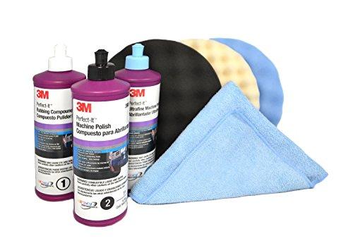 3M Perfect it BUFFING POLISHING KIT Pad Compound Foam 39062 39061 39060 5723 5725 5751