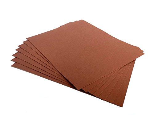 9 Inch X 11 Inch Sandpaper General Sandpaper Sheets Aluminum Oxide Sanding Sheets 25 Pack 220 Grit