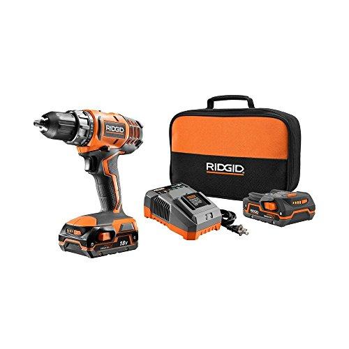 Ridgid R860052K 18-Volt Compact DrillDriver Kit