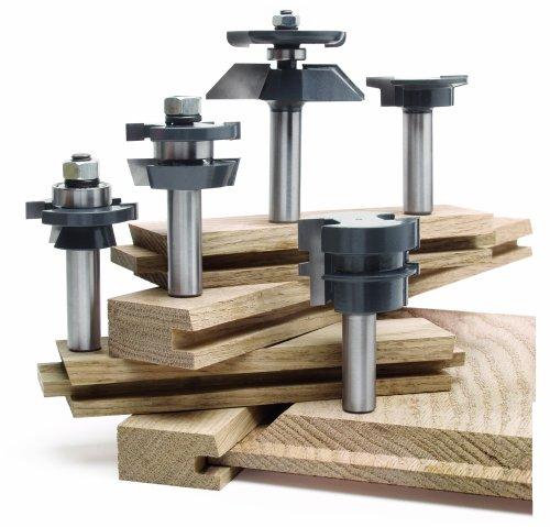 MLCS 8391 Shaker Raised Panel Door Cabinetmaker Set 5-Piece