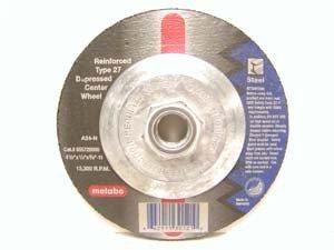 Metabo 469-655726000 450 in Type 27 Depressed Center Grinding Wheels - Small Grinders