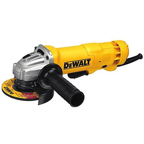 DEWALT DWE402W 4-12 Small Angle Grinder with Wheel