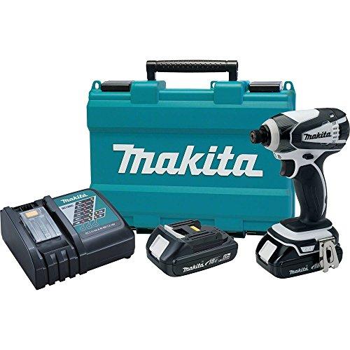 Makita XDT04RW 18V Compact Lithium-Ion Cordless Impact Driver Kit