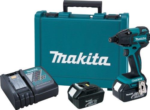 Makita XDT08 18V LXT Lithium-Ion Brushless Cordless Impact Driver Kit