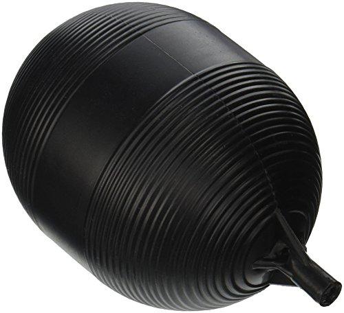 Keeeny PP9906-1 Plastic Tank Float Ball 4 inch X 5 inch Black