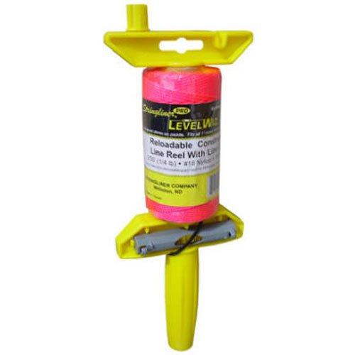 Stringliner 24162 Braided Line Pro Level Wiz Line Reel Pink